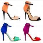 Sandálias com TIRAS NO TORNOZELO