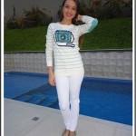 Look Branco + Verde
