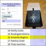 Resultado sorteio Crucifixo Gisele Ayres
