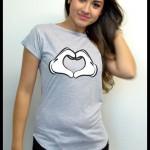 Sorteio T-Shirt Estampa Morena