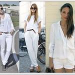 Branco, ta na moda!