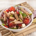 Salada Penne Integrale Veggie com Feta