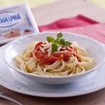 Molho de Tomate e Purê de batata