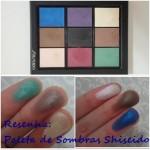 Resenha: Paleta de Sombras Shiseido
