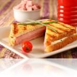 Sanduíche Croque Seara