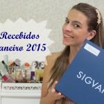 Vídeo: Recebidos Janeiro/2015