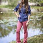 Dicas do Brás: Flare com camisa Jeans