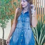 Vestido amor da Consciência Jeans