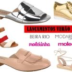 Lançamentos de Verão 2017 – Moleca, Beira Rio, Modare e Molekinha
