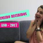 Primeiro RECEBIDOS de 2017