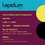 Pop Up Alcaçuz + ARTEFACTO e LAPIDUM
