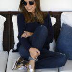 #bloggersandtrip – Look Outono/Inverno com sapato metalizado