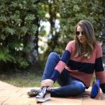 #bloggersandtrip – Tricô, Jeans Destroyed e um sapato metalizado