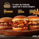 Outback Galleria apresenta Festival de Burgers com sabores exclusivos da marca