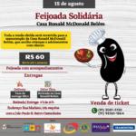 Feijoada Solidária-Casa Ronald McDonald Belém